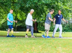 Nordic Walking mit Prothese